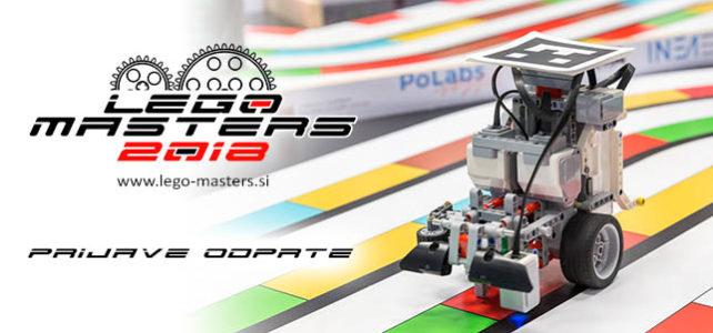 Prijavite se na Lego Masters 2018
